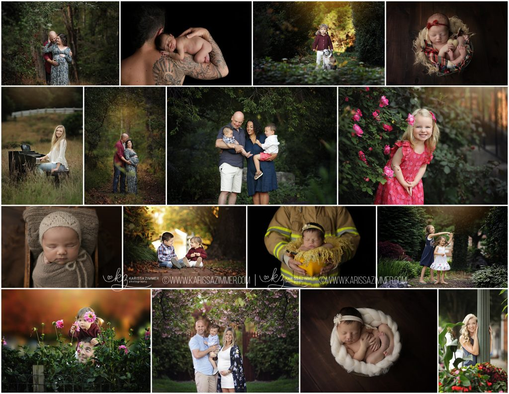 family newborn maternity high school senior photographer in harrisburg pa