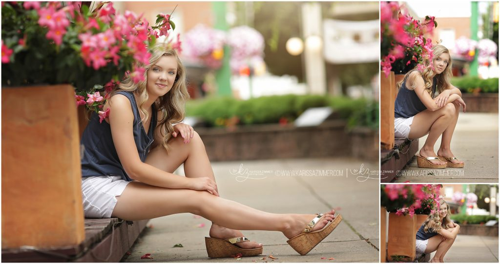 lower dauphin high school senior pictures in Hummelstown square