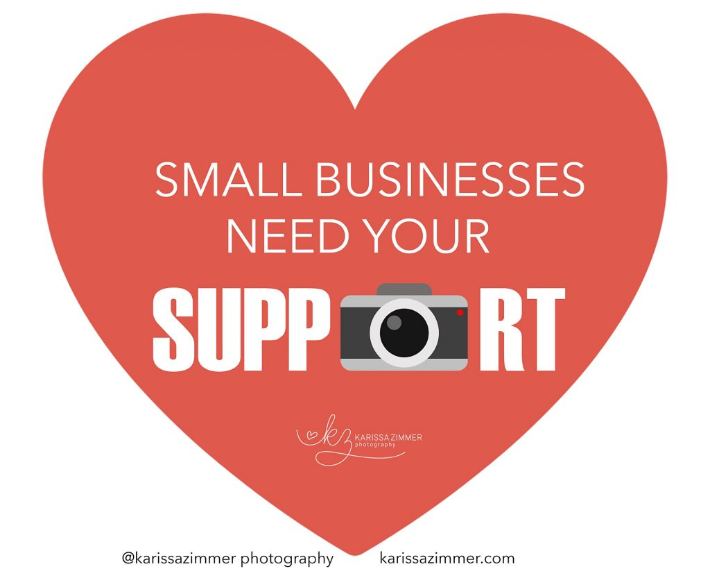 Camp Hill Pa photographer asks for small business support during COVID crisis
