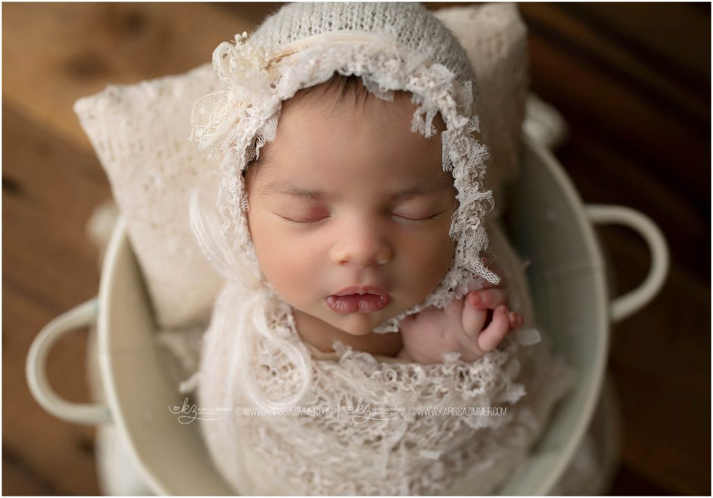 newborn photography session booked with camp hill newborn photographer karissa zimmer