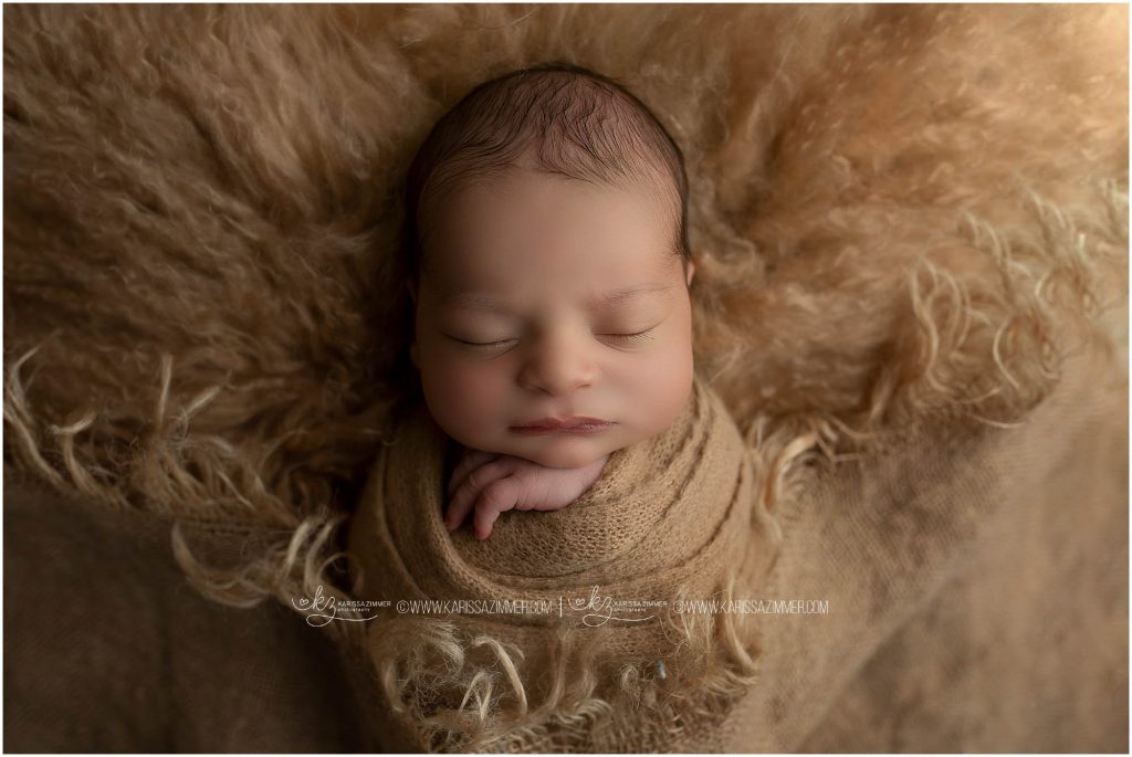 newborn photographed by karissa zimmer photography in camp hill pa