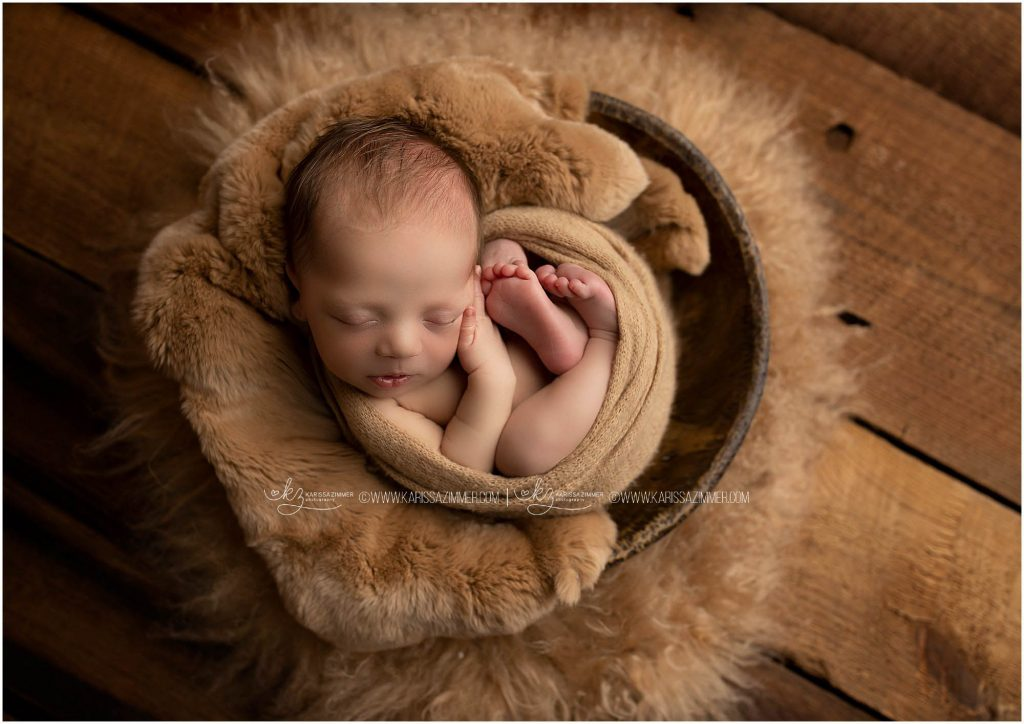 best mechanicsburg newborn photographer karissa zimmer photographed newborn baby boy