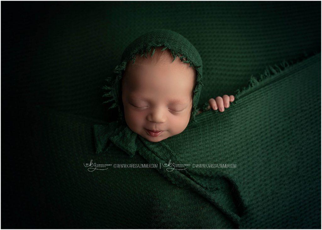 baby boy photographed by Best Mechanicsburg newborn, karissa zimmer photography