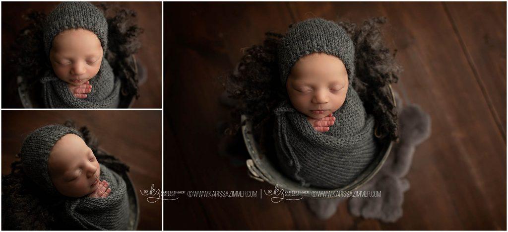 newborn baby photography by karissa zimmer photography