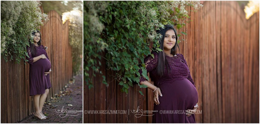 maternity pictures capture expecting mom at her maternity session
