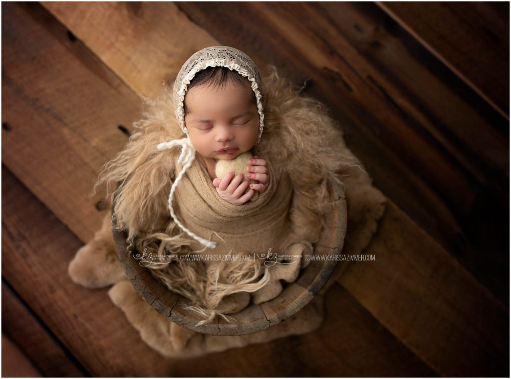 Newborn baby girl photography in Camp Hill pa