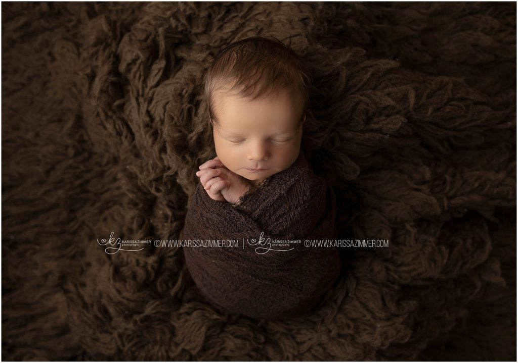 simple posed newborn photography by karissa zimmer photography