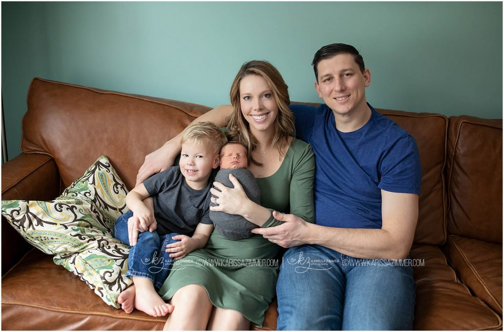 family captured together during camp hill lifestyle photography session